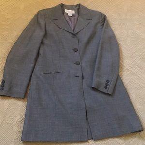 Gray Long Blazer size 4